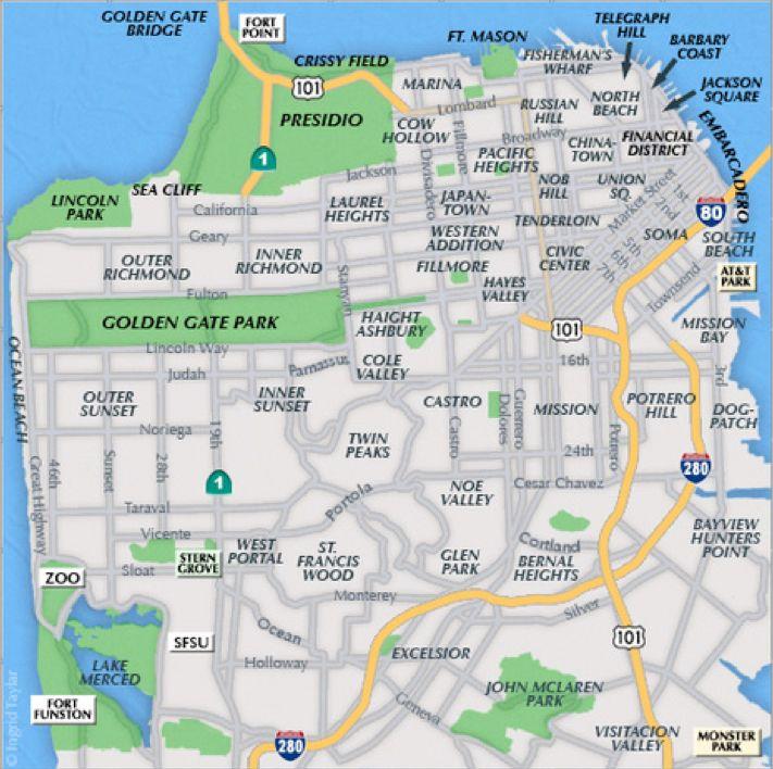 289 best San Francisco Maps images on Pinterest Maps Cards