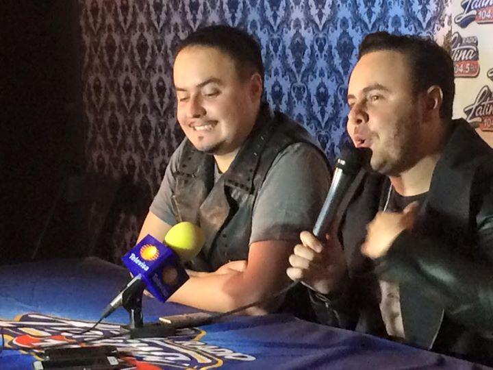 Rueda de prensa de Río Roma en el Mini Concierto de Radio Latina 3/3