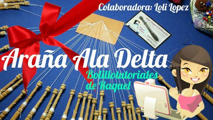 De nuevo nuestra amiga encajera y colaboradora de este fantástico canal Lola Lopez nos comparte una de sus creaciones: la Araña Ala Delta para nuestros encaj...