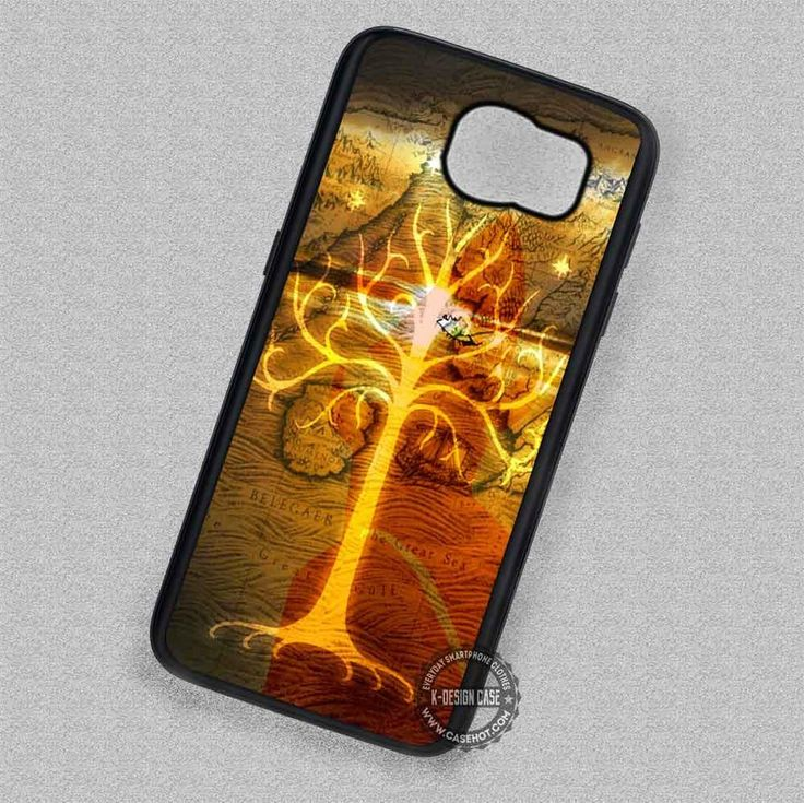 Golden Tree Lord of the Rings - Samsung Galaxy S7 S6 S5 Note 7 Cases & Covers