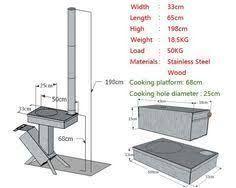 Resultado de imagen de apostol rocket stove size