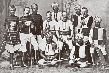 The fusion of British and Indian culture under the British Raj.