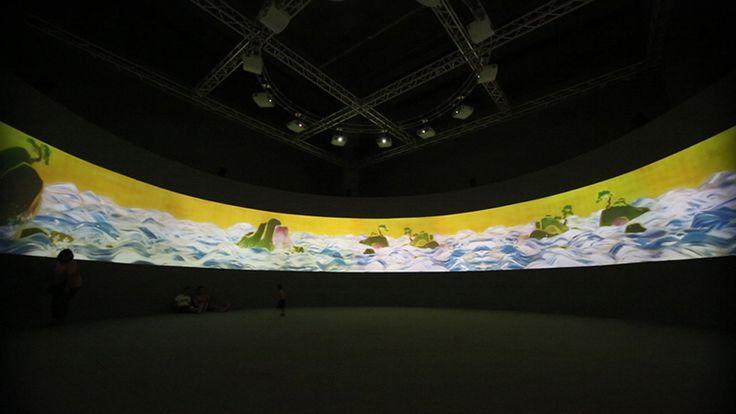 rd800_百年海図巻 アニメーションのジオラマ Cyclorama Ver_100 Years Sea Animation Diorama – Cyclorama Version_main
