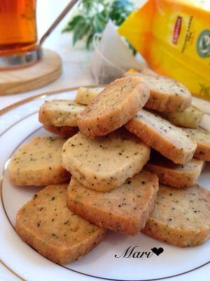 「【決定版】茶葉香る♬*自慢の♡濃‼︎紅茶クッキー」さっくさく♬イイ香り*簡単に作れるクッキーです。好みの茶葉で作ると楽しいです ◟́◞̀ ♪※4人分=約30枚分【楽天レシピ】