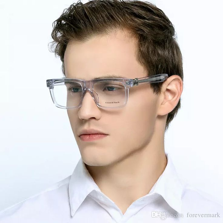 High Quality Silver Men Optical Eyeglasses Frames With Box Prescription Clear Lens Shipping Free Myopia Eyeglasses Frames Prescription Glasses Frames Clear Lens Reading Glasses Online with $66.29/Piece on Forevermark's Store | DHgate.com