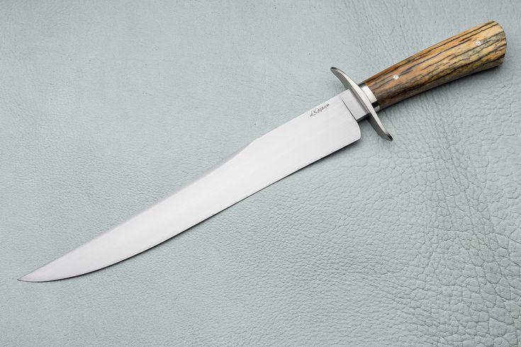 "[049] Faca Bowie de Luta 11"" - LGustavo - Custom Knives"