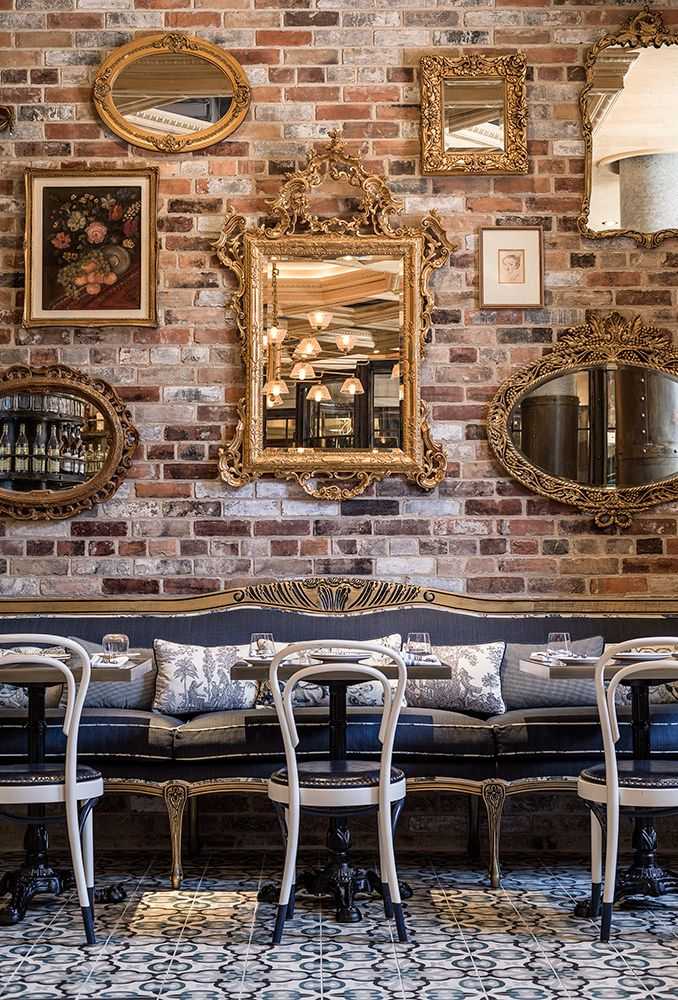 Restaurant Bar Wall Decor : Cluny bistro boulangerie the distillery district