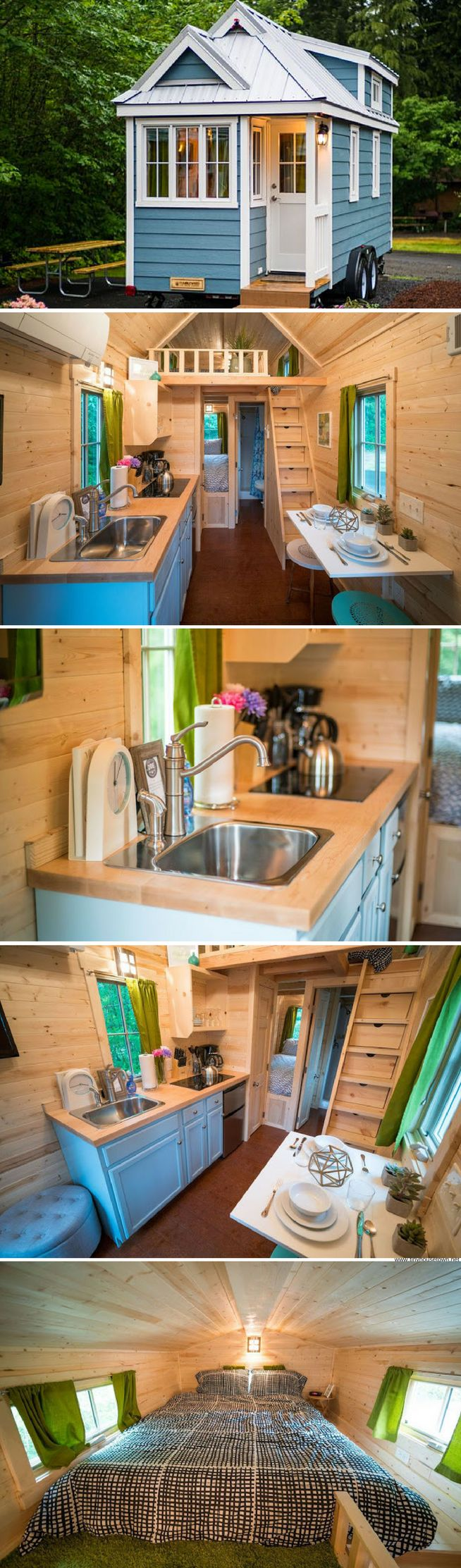 Zoe: a tiny house at the Mt. Hood Village Resort