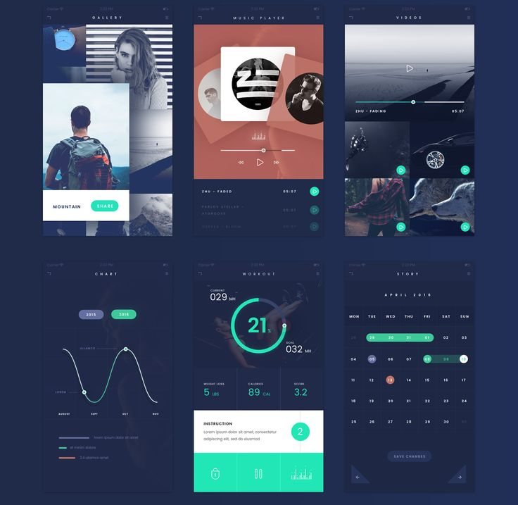Deep Blue, flat style UI kit for IOS or Andrid devices, but this kit specified for IOS 9resolution. Hope you like it, and feel free to use your personal or commercial project too.Future updates is possible.Enjoy!