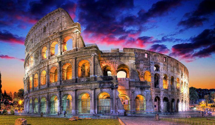 Colosseum Architecture Pinterest Architecture