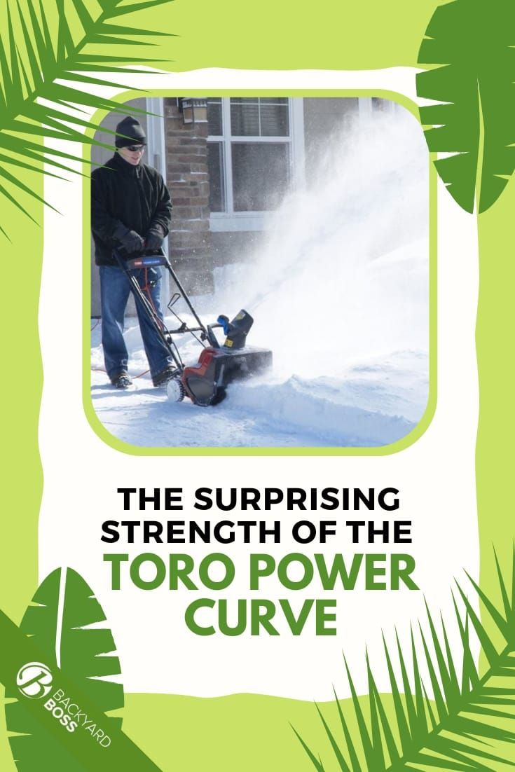 Toro Power Curve Snow Blower Review Snow Blower Snow Removal Blowers