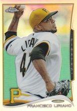 2014 Topps Chrome Baseball Refractor #115 Francisco Liriano Pittsburgh Pirates