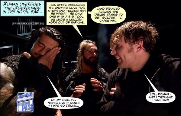 I would pay ridiculous amounts of money to see this.....credit Jen@dean-ambrose.net