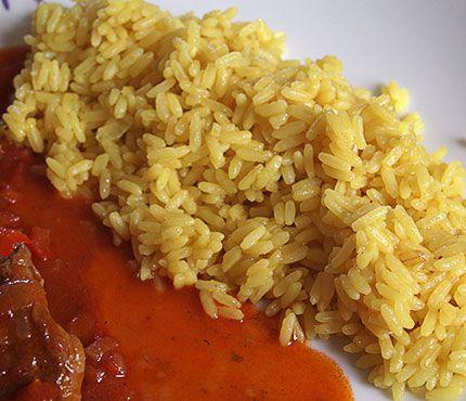 Ρύζι με κουρκουμά