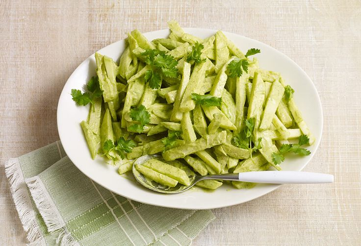 Salad with Avocado and Pepita Dressing... You MUST TRY this salad ...