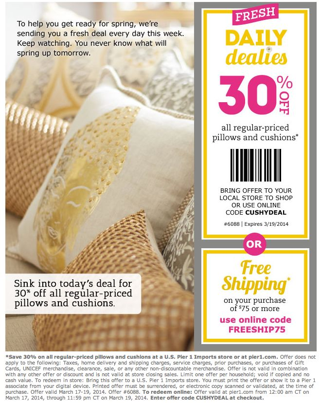 Pier one imports coupons printable