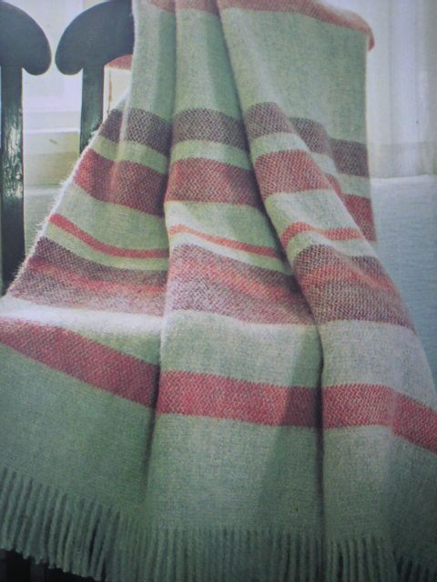 handwoven wool blanket