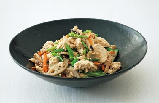 炒り豆腐。栗原はるみ。