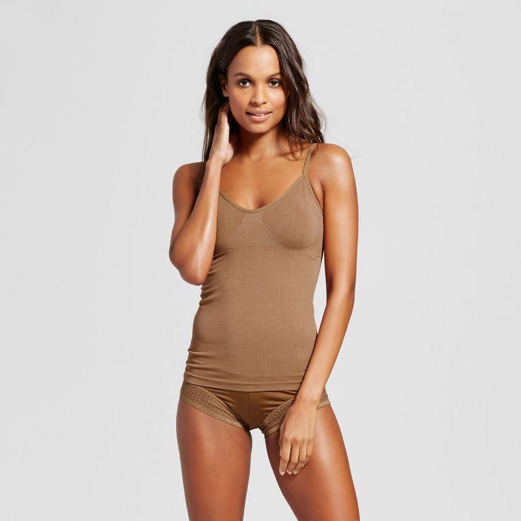Women's Pajama Seamless Camisole - Caramel Xxl