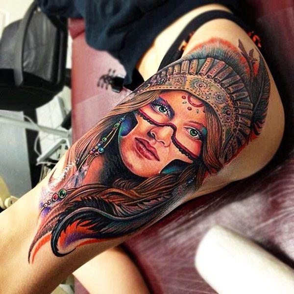Татуировки для девушек на запястье, ноге, ключице и бедре ...