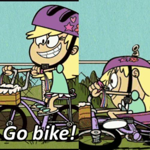 Leni Loud bike