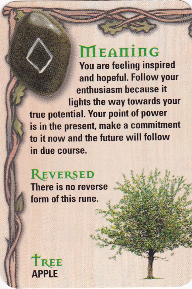☆ The Rune - Ing - Ng - Fertility God ☆ - Pinned by The Mystic's Emporium on Etsy