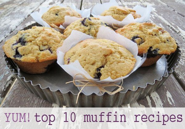 Top 10 muffin recipes. #muffins #baking #recipes #tasty
