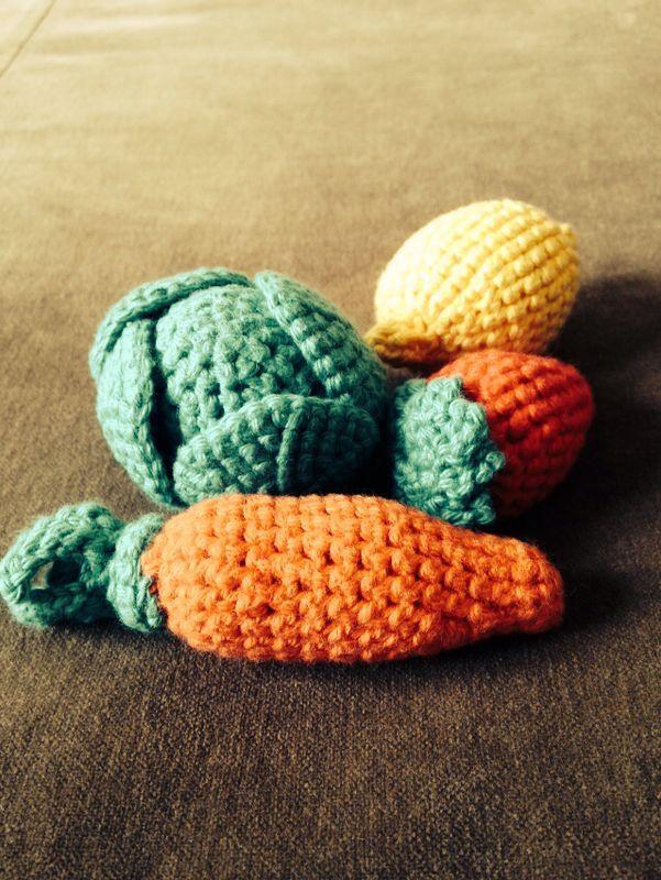Frutas #amigurumi #crochet