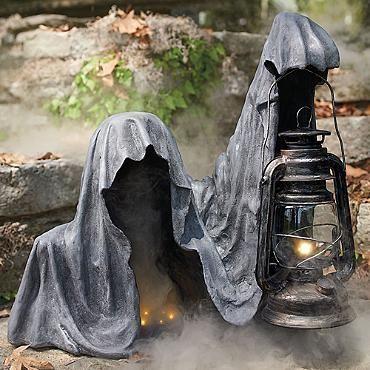 Concrete cloth Halloween display