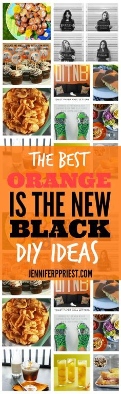 The best DIY ideas and Orange Is the New Black Party ideas from the best crafters on earth. Make a costume, create a recipe, and more from your fave OITNB characters. Throw the most epic Netflix premiere party for Orange Is the New Black that your friends have ever seen. http://www.jenniferppriest.com/best-orange-is-the-new-black-party-ideas/