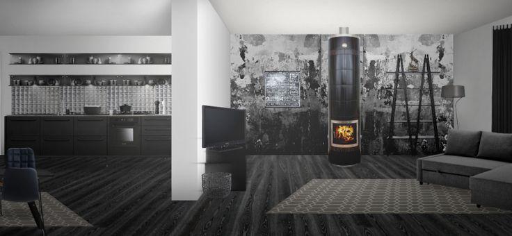 Modern scandinavian style room