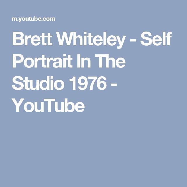 Brett Whiteley - Self Portrait In The Studio 1976 - YouTube