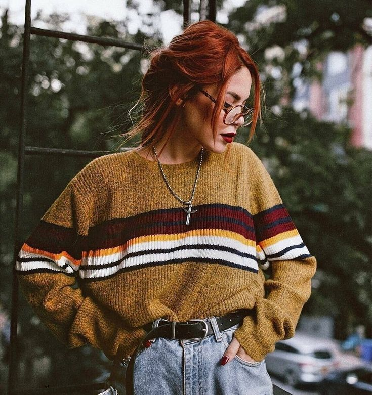 44 Styles Outfits Ideas with Sweater for Current Spring