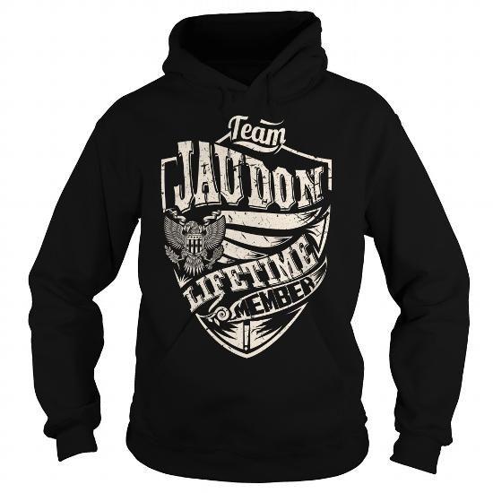 I Love Last Name, Surname Tshirts - Team JAUDON Lifetime Member Eagle T-Shirts