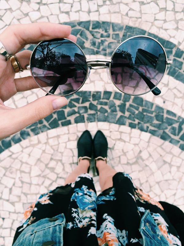 Fashion Coolture: OVERSIZE VINTAGE INSPIRED METAL ROUND CIRCLE SUNGLASSES 8370