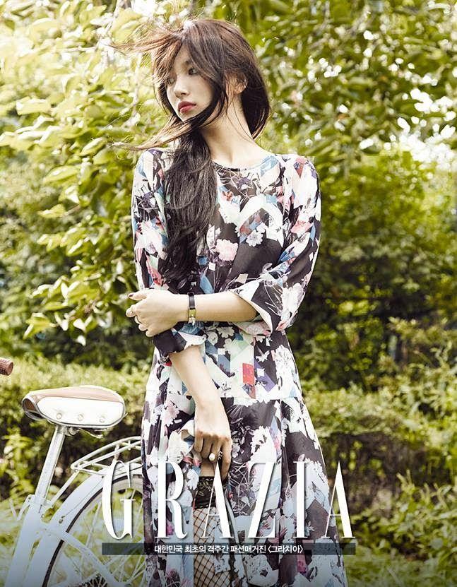 Suzy ★ Miss A // Grazia Magazine