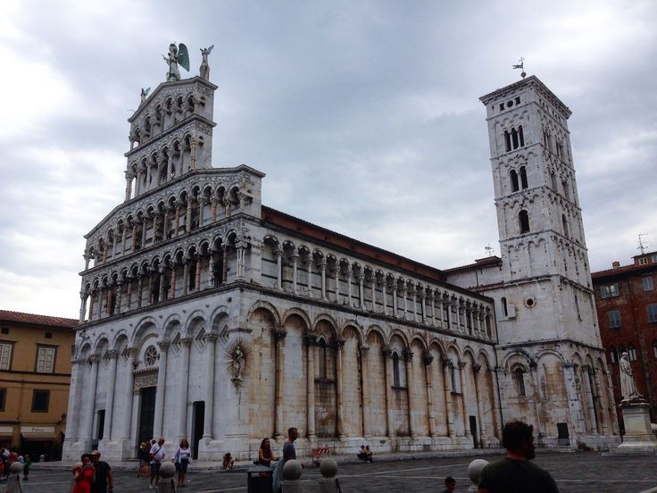 Chiesa di S. Michele, Lucca #church #lucca #tuscany #italy #work #job #fun #loveit #art #architecture #history