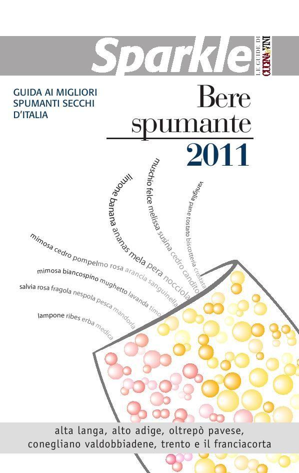 SPARKLE-BERE SPUMANTE. Cover 2011