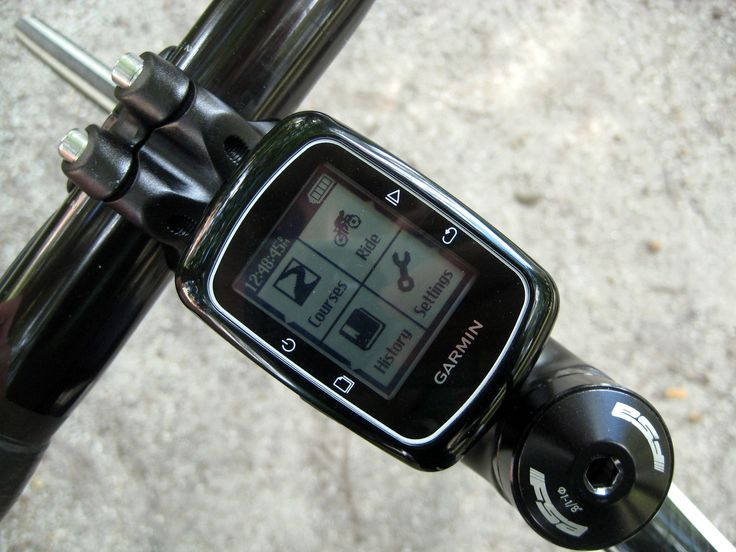 The awesome Garmin Edge 200 Cycle Computer