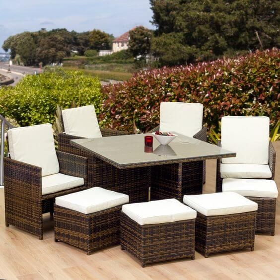 10 Creative Decor With Rattan Cube Set Garden Furniture You Will Loved http://ift.tt/2mT5yxk Decor Room