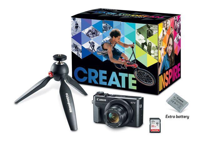PowerShot G7 X Mark II Video Creator Kit | Canon Online Store