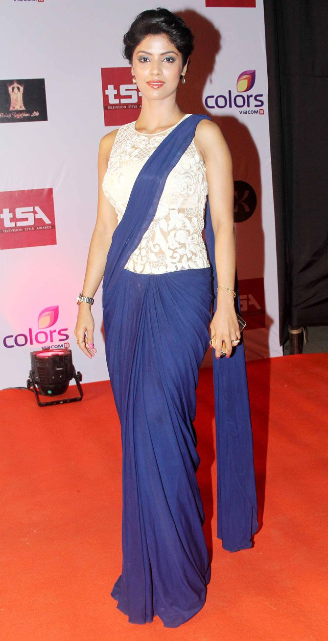 Sayantani Ghosh at the Television Style Awards. #Bollywood #Fashion #Style #Beauty