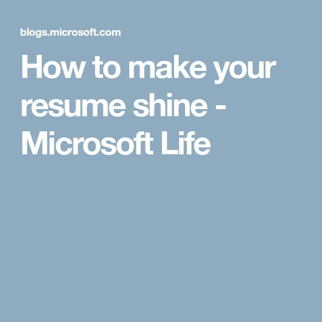 The 25+ best How to make resume ideas on Pinterest Best - how to make your resume