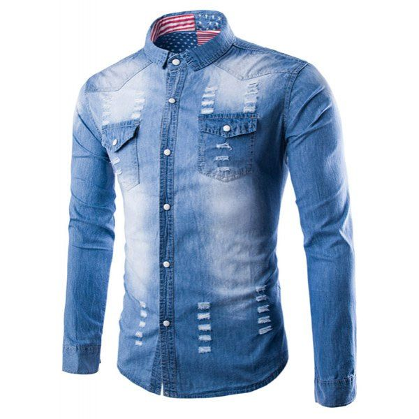 1000  ideas about Denim Shirts For Men on Pinterest | Shirts for