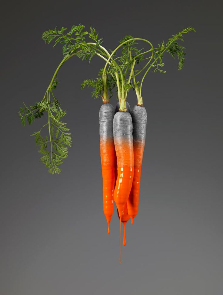Colors Series - The dripping fruits and vegetables of Giorgio Cravero