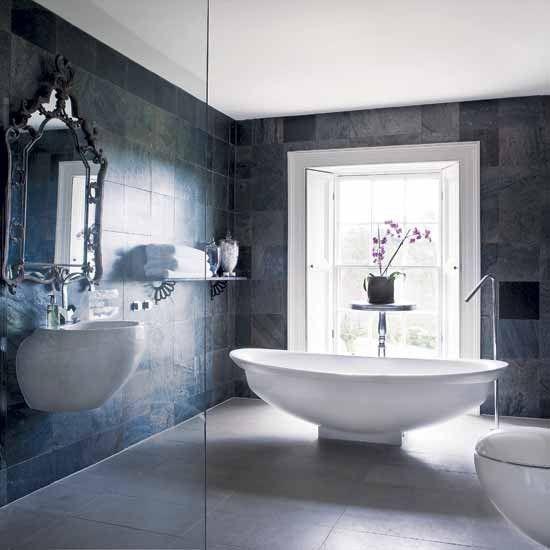 Best Bathroom Floors Images On Pinterest Bathroom Designs - Plush towels for small bathroom ideas
