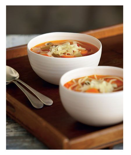 "Italian Vegetable Soup from ""CWA Classics"" cookbook"