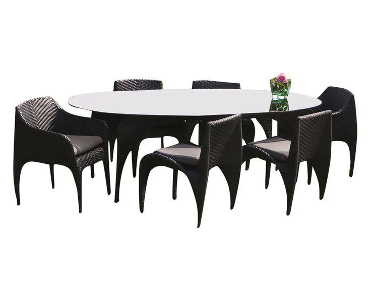 Oltre 25 fantastiche idee su tavolo ovale su pinterest for Idee portico florida