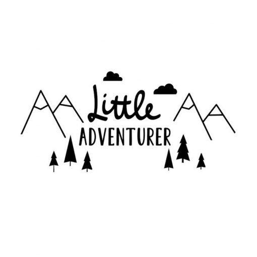 Muursticker Little Adventurer   Deze muursticker is leuk voor iedere baby- of kinderkamer. Het is een super leuk accessoire voor de kleine wereldreiziger! De muursticker bestaat uit losse onderdelen. Deze losse stickers zijn gemakkelijk aan te brengen op vlakke, gladde en schone onderlagen zoals een muur, kast of deur. #muursticker #littleadventurer #kids #reisaccessoires