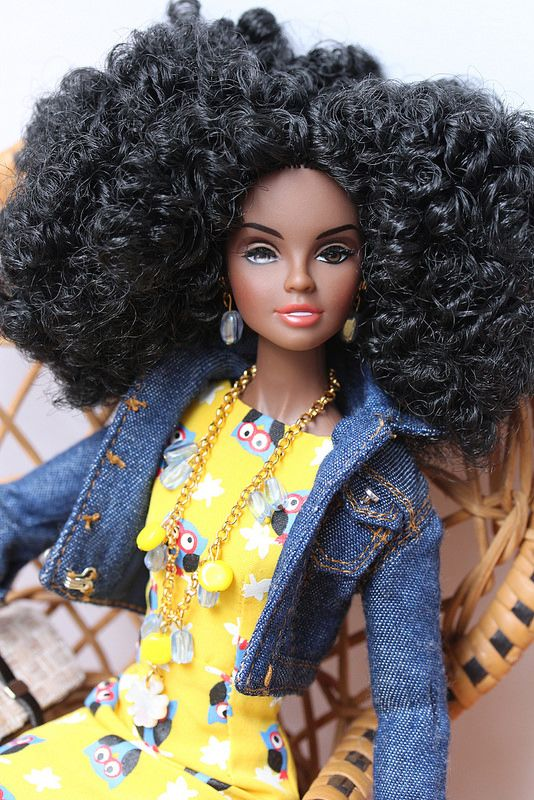 17 Best Images About Natural Hair Dolls On Pinterest